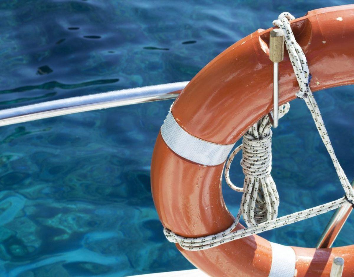 Ulykken skete ombord på et krydstogtsskib. Genrefoto.