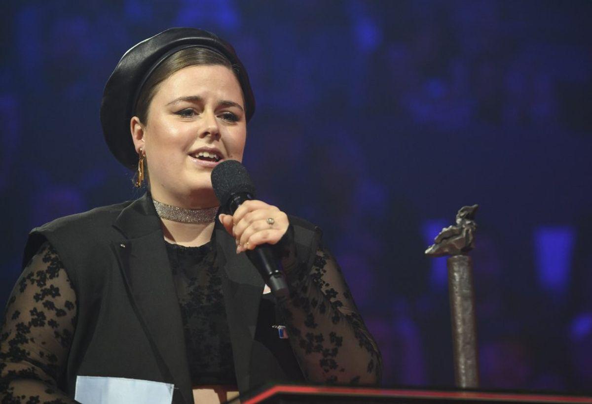 Jada vandt Årets Nye Danske Livenavn (Foto: Torben Christensen/Ritzau Scanpix)