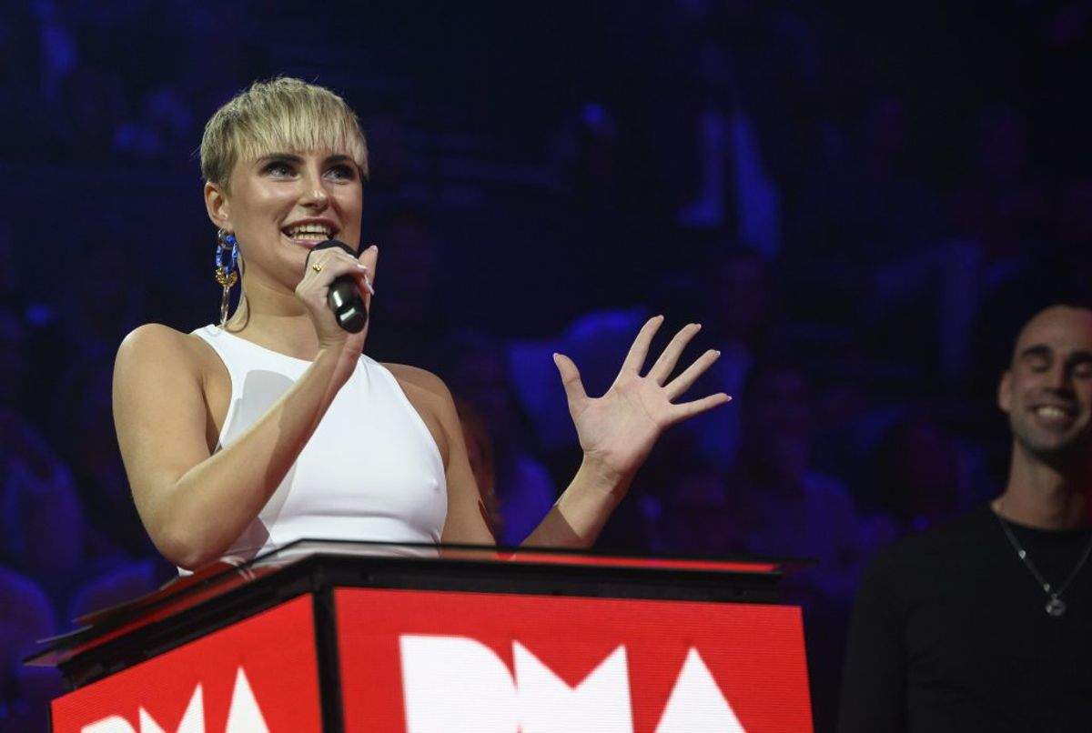 Clara vandt Årets Danske Navn. (Foto: Torben Christensen/Ritzau Scanpix)