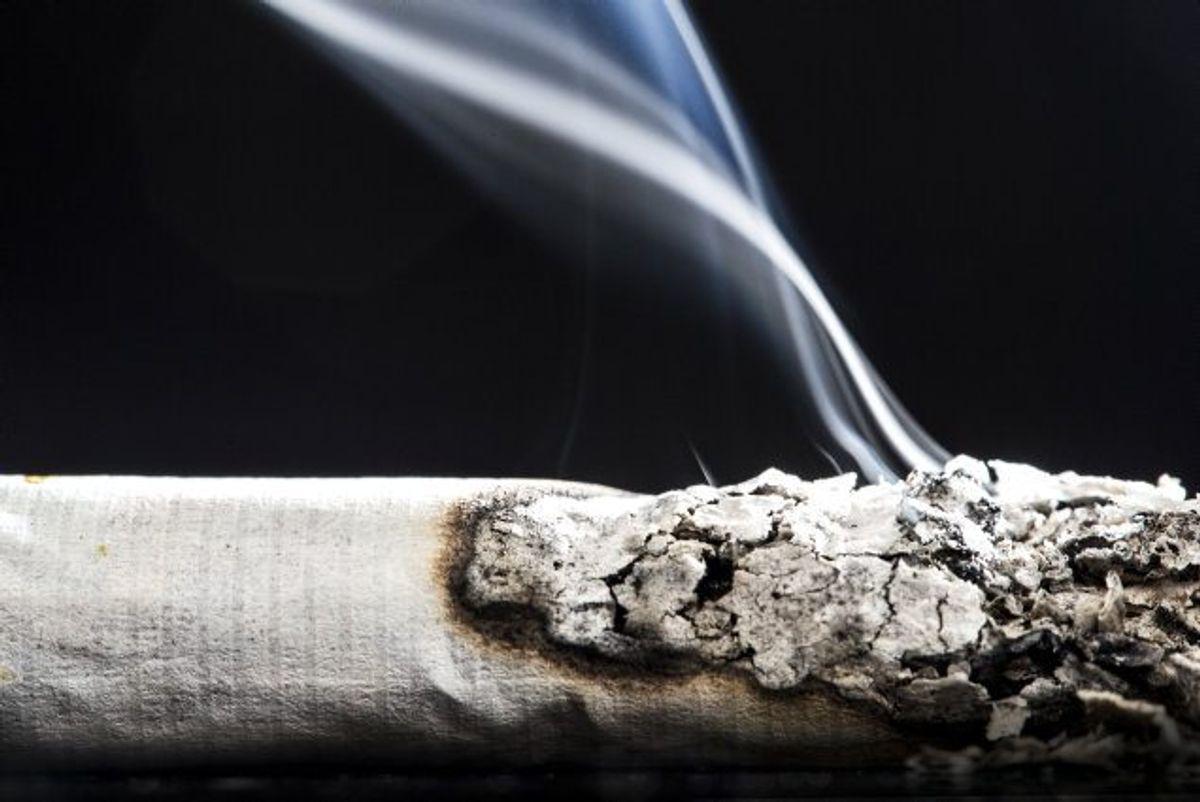 I dag er det hver tyvende skoleelev omkring 15 år, der ryger dagligt. Rygning kan føre til lungekræft, så klik videre i galleriet her og se hvilke, symptomer, du skal holde øje med. (Arkivfoto) Foto: Sophia Juliane Lydolph/Scanpix
