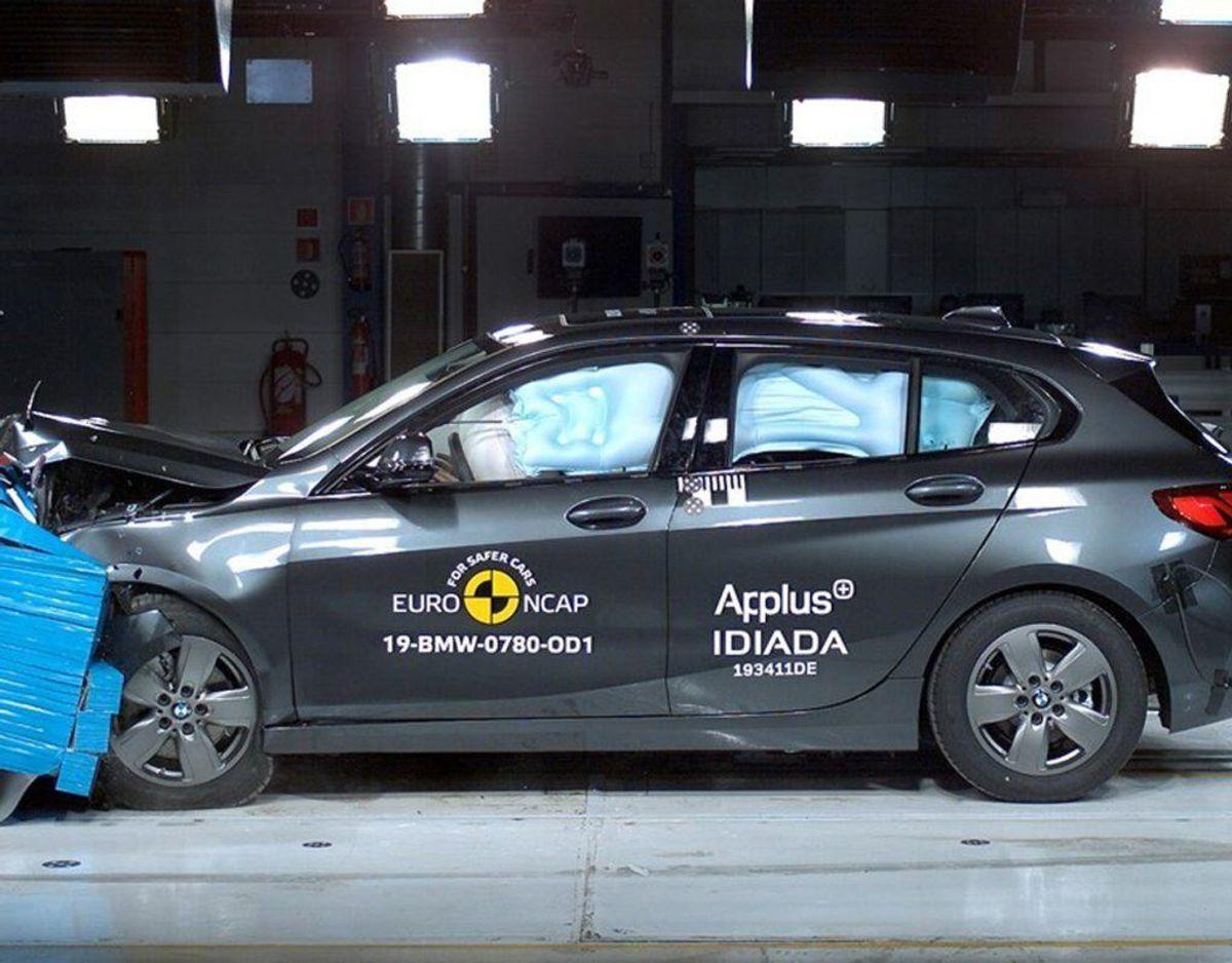 BMW 1-serie: 5 Euro NCAP-stjerner. Foto: FDM