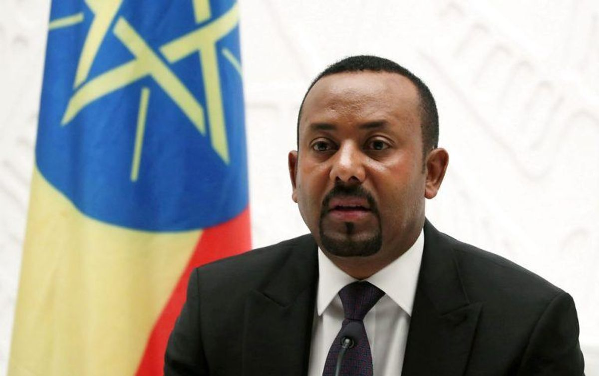 Men den går til Etiopiens premierminister Abiy Ahmed. Foto: Scanpix
