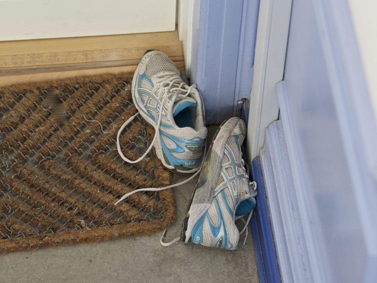 Skift løbeskoene ud med passende mellemrum. Foto: Colourbox.