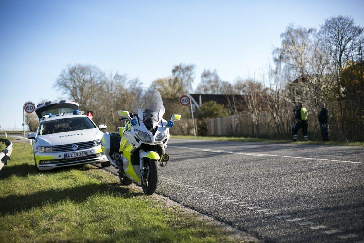 Der blev konstateret 1023 forseelser. Foto: Rådet for sikker Trafik.