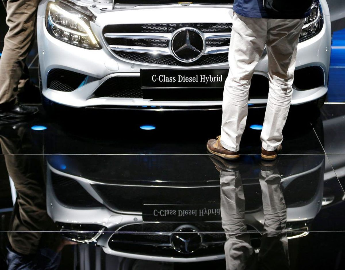 Nr. 18: Mercedes-Benz C-klasse – 236 biler. Foto: Scanpix