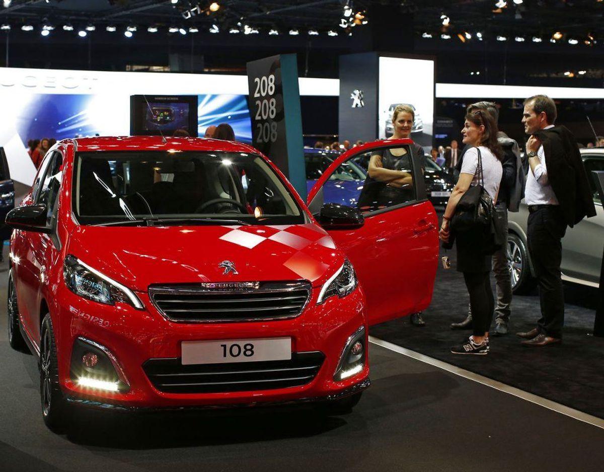 Nr. 17: Peugeot 108 – 250 biler. Foto: Scanpix