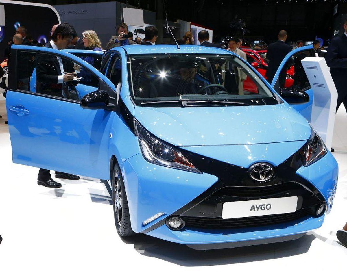 Nr. 16: Toyota Aygo – 263 biler. Foto: Scanpix