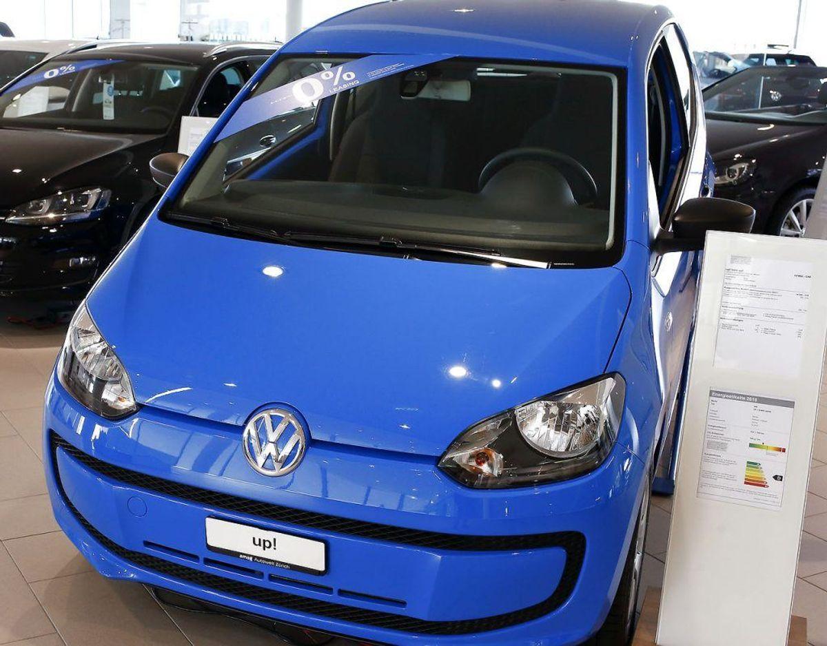 Nr. 15: Volkswagen Up! – 270 biler. Foto: Scanpix