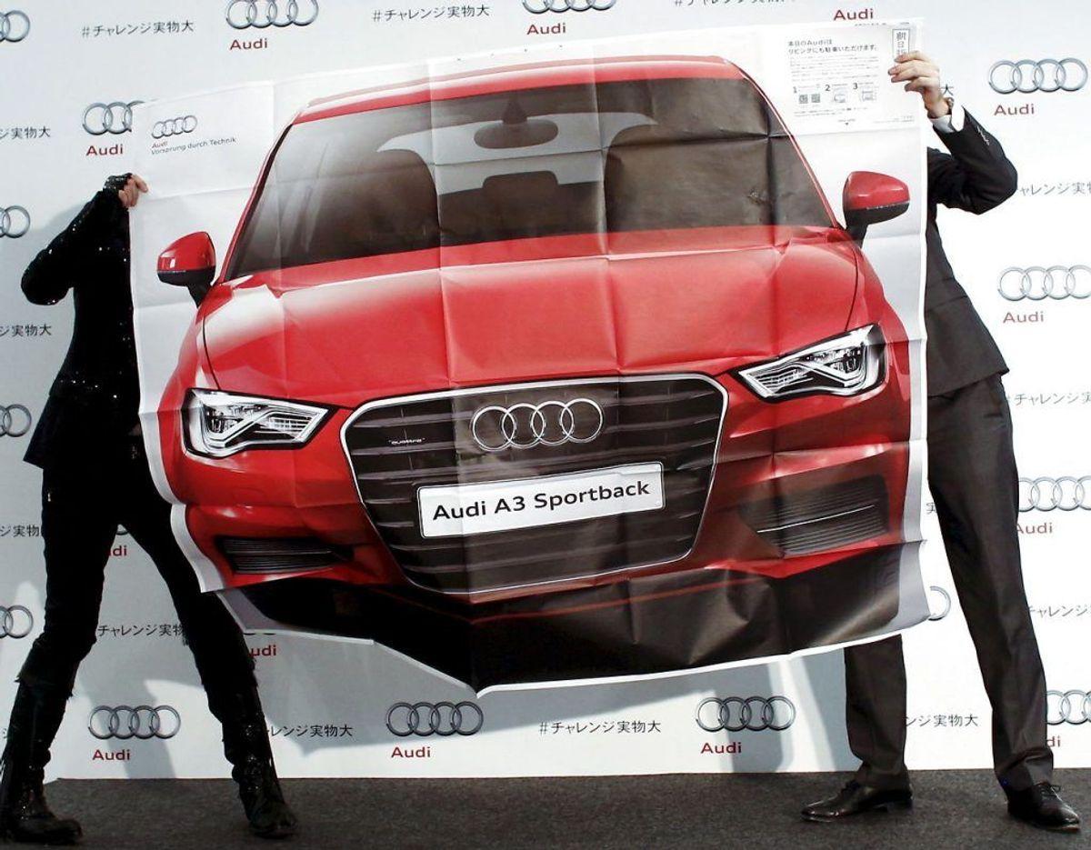 Nr. 11: Audi A3 – 291 biler. Foto: Scanpix
