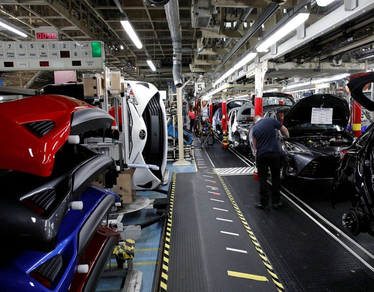 Nr. 9: Toyota Yaris – 315 biler. Foto: Scanpix