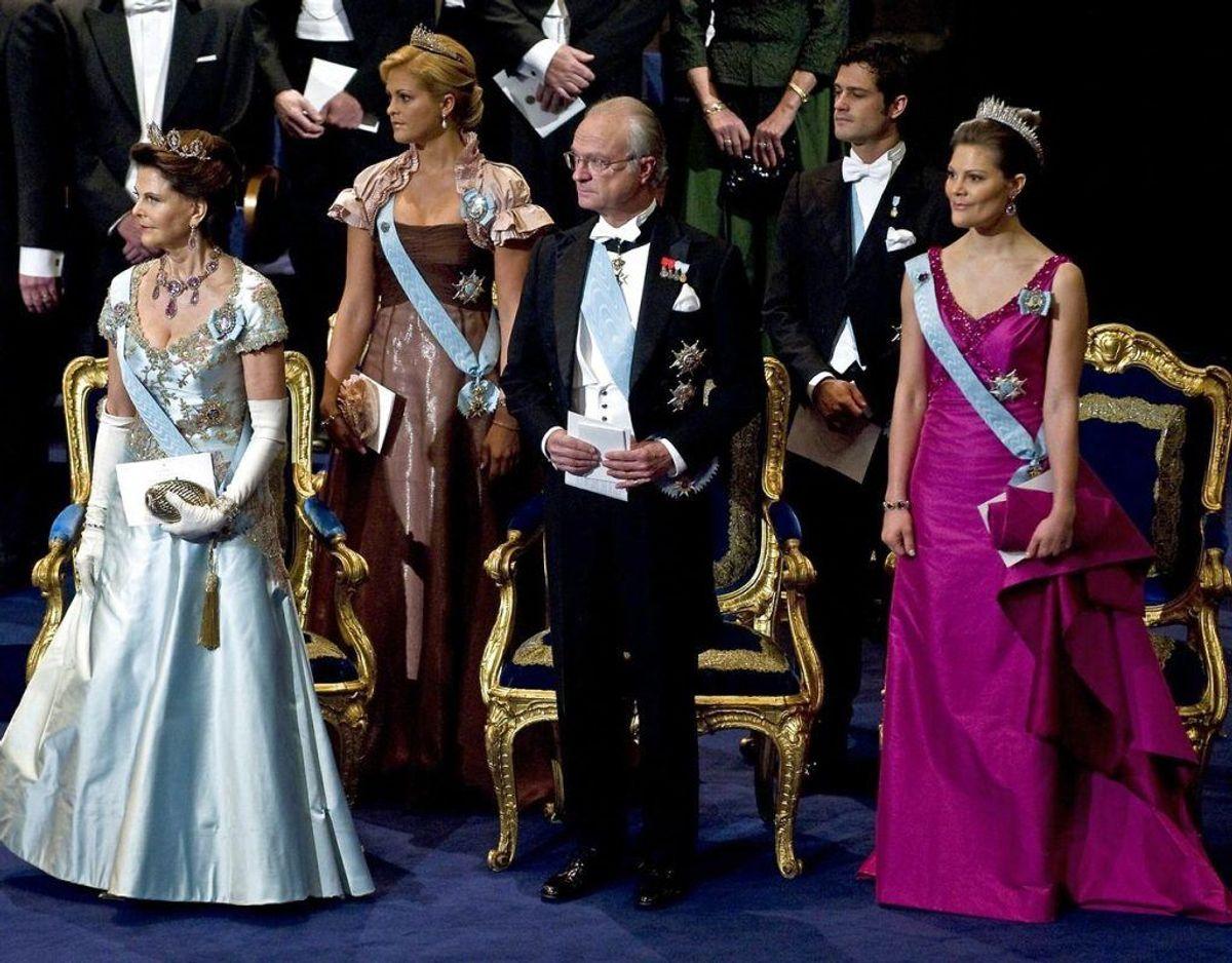 Omstrukturering i det svenske kongehus. Fem er blevet smidt ud, har kongen bestemt. Foto: Scanpix