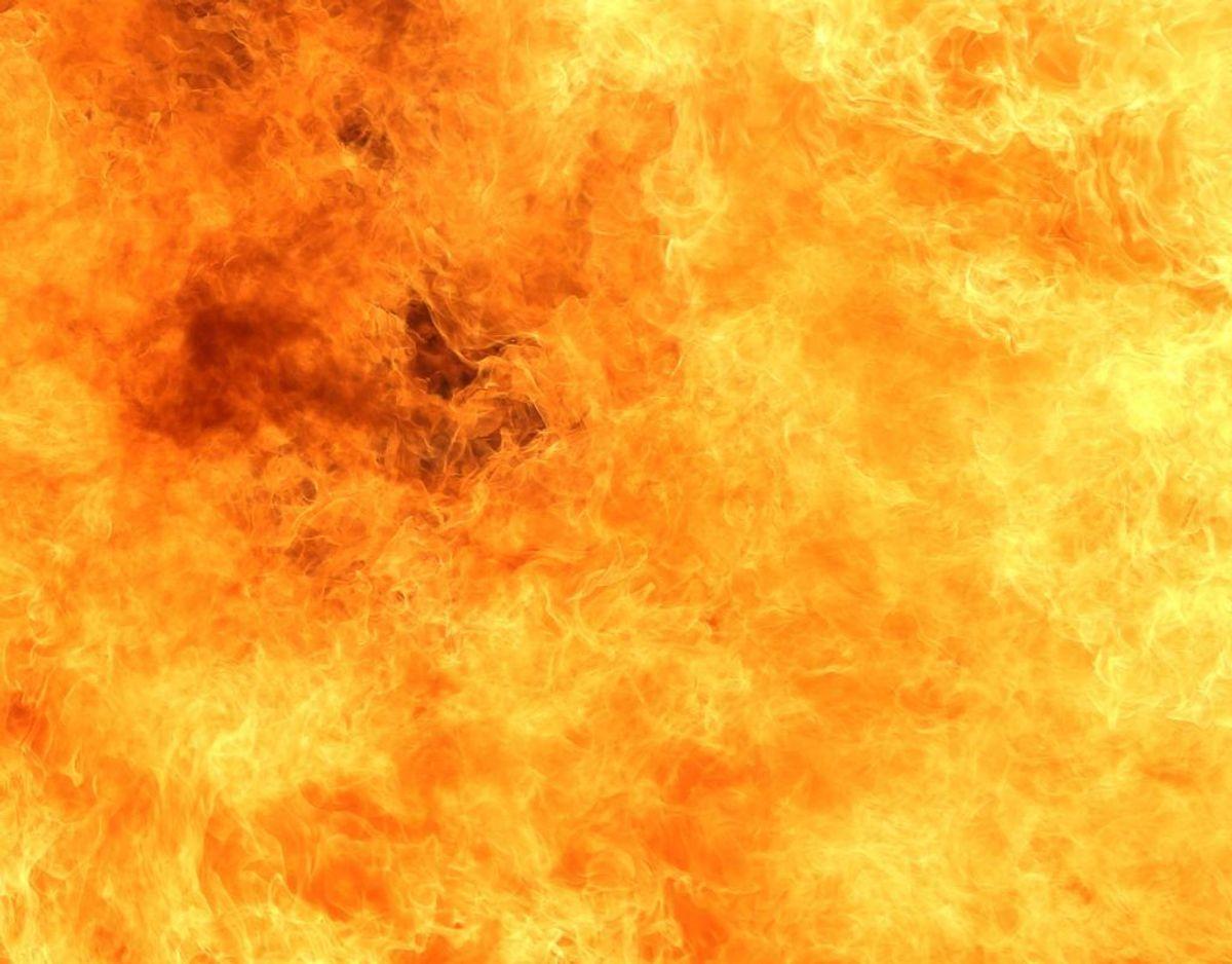 Én person er fundet livløs i forbindelse med branden. Arkivfoto.