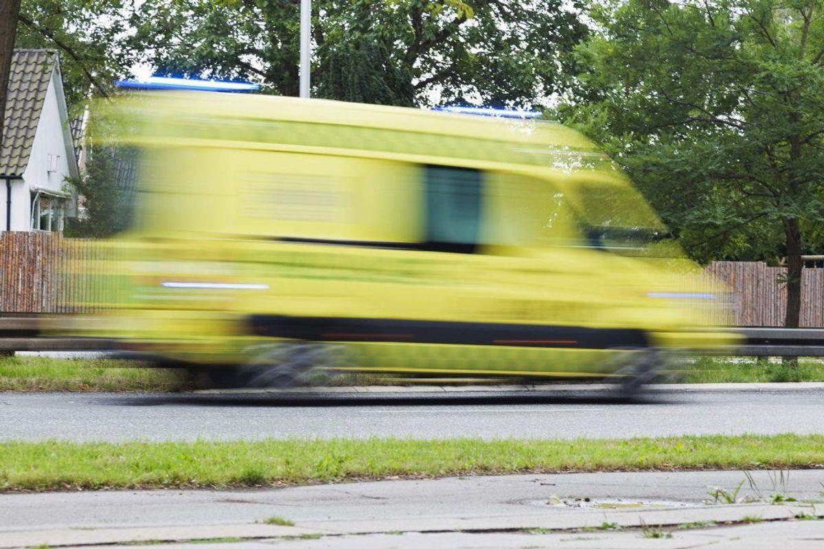 En 75-årig mand er lørdag blevet dræbt i en trafikulykke. Genrefoto.