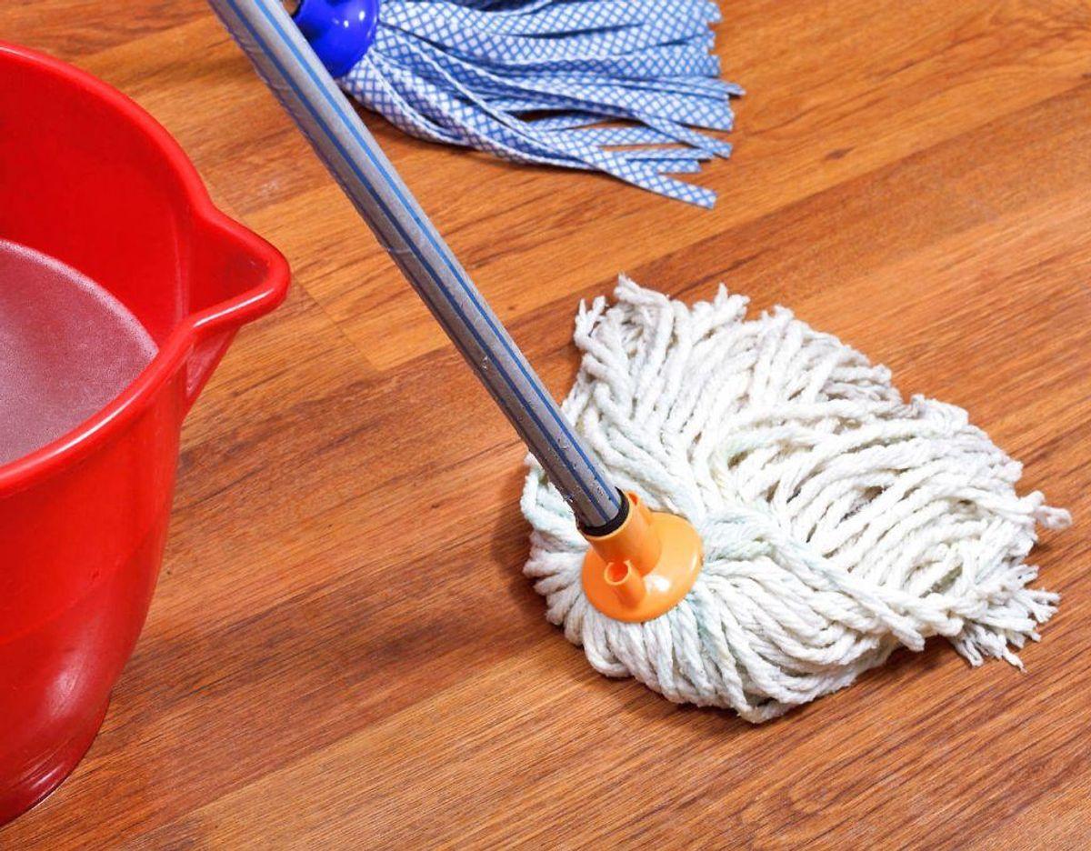 Gøre gulvene rene på 15 minutter? KLIK videre og se hvordan. Foto: Scanpix