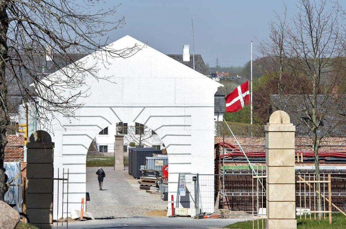 Constantinsborg ved Brabrand i Aarhus, tirsdag den 23. april 2019. Hjem for familien Anders og Anna Holch Povlsen, ejer af Bestseller. 3 af parrets børn blev dræbt ved terrorangreb i Colombo på Sri Lanka.. (Foto: Henning Bagger/Ritzau Scanpix)