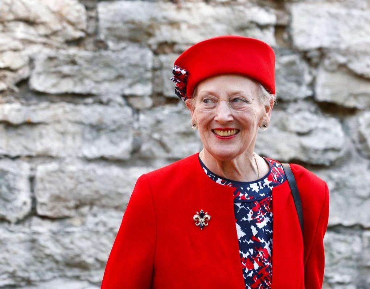 Dronning Margrethe har, før Donald Trump aflyste sit statsbesøg, afvist Donald Trump. Klik videre og se flere billeder. Foto: Scanpix