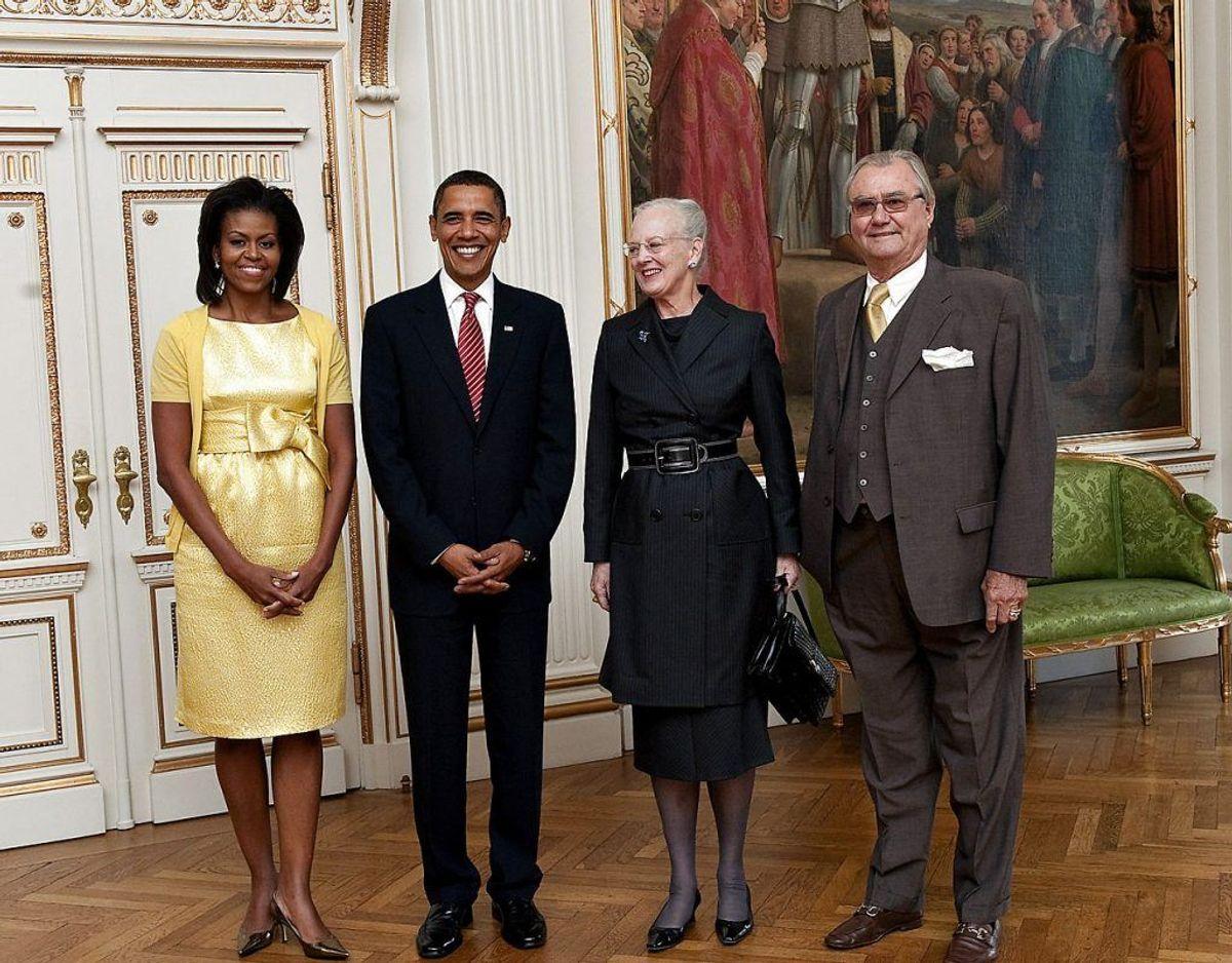 Donald Trump skulle, ligesom hans kollega Barack Obama og hans kone Michelle, have mødt dronningen under sit statsbesøg den 2. og 3. september. Foto: Scanpix