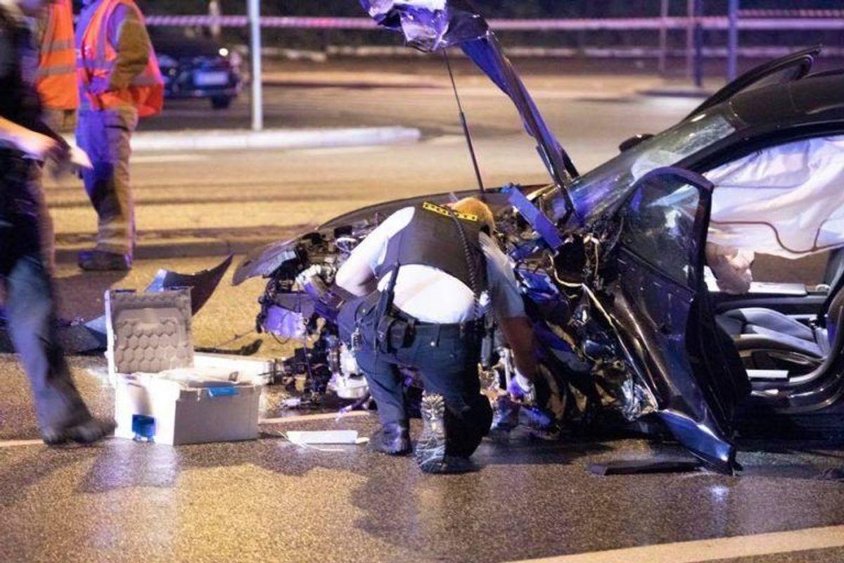De præcise detaljer om mandens vanvidskørsel er endnu ukendte. Foto: Presse-fotos.dk