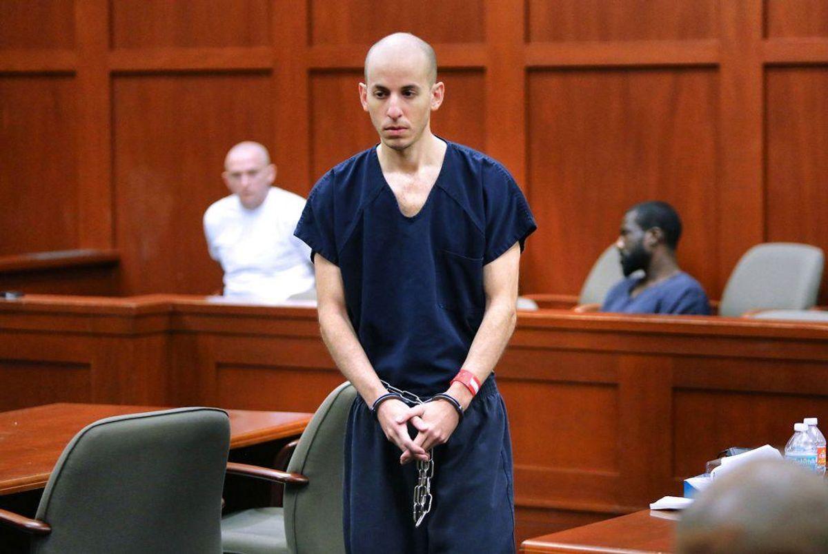 Grant Amato er blevet dømt for tredobbeltdrab. Foto: Scanpix