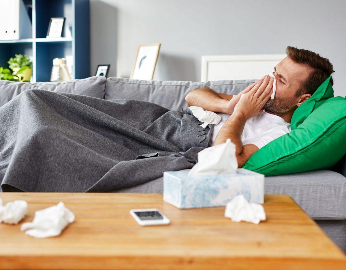 Du oplever at blive mere syg, når du oplever stress fra arbejdet. Foto: Scanpix