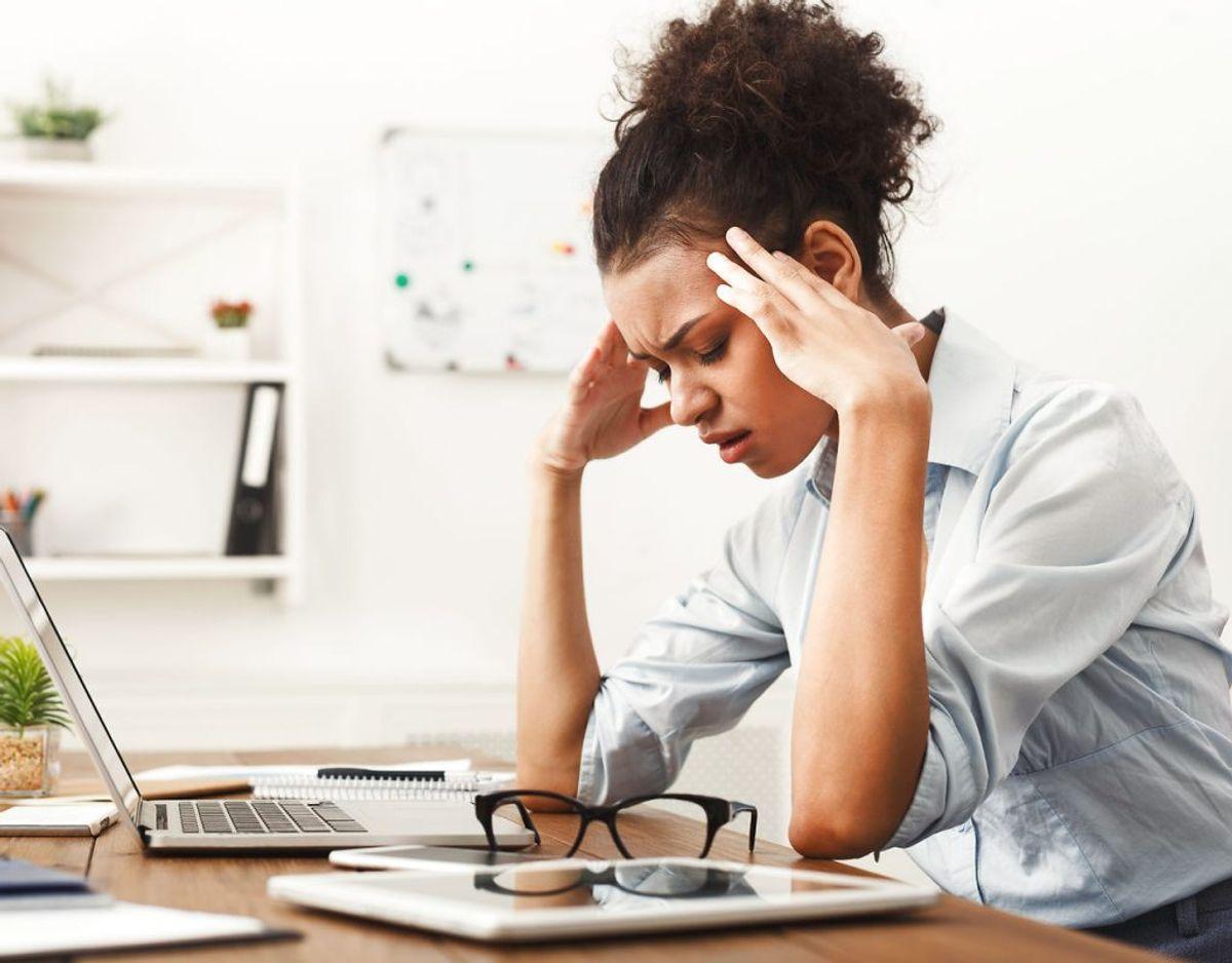 Du begynder at opleve stadig flere hovedpiner, viser tal fra American Psychological Association. Foto: Scanpix