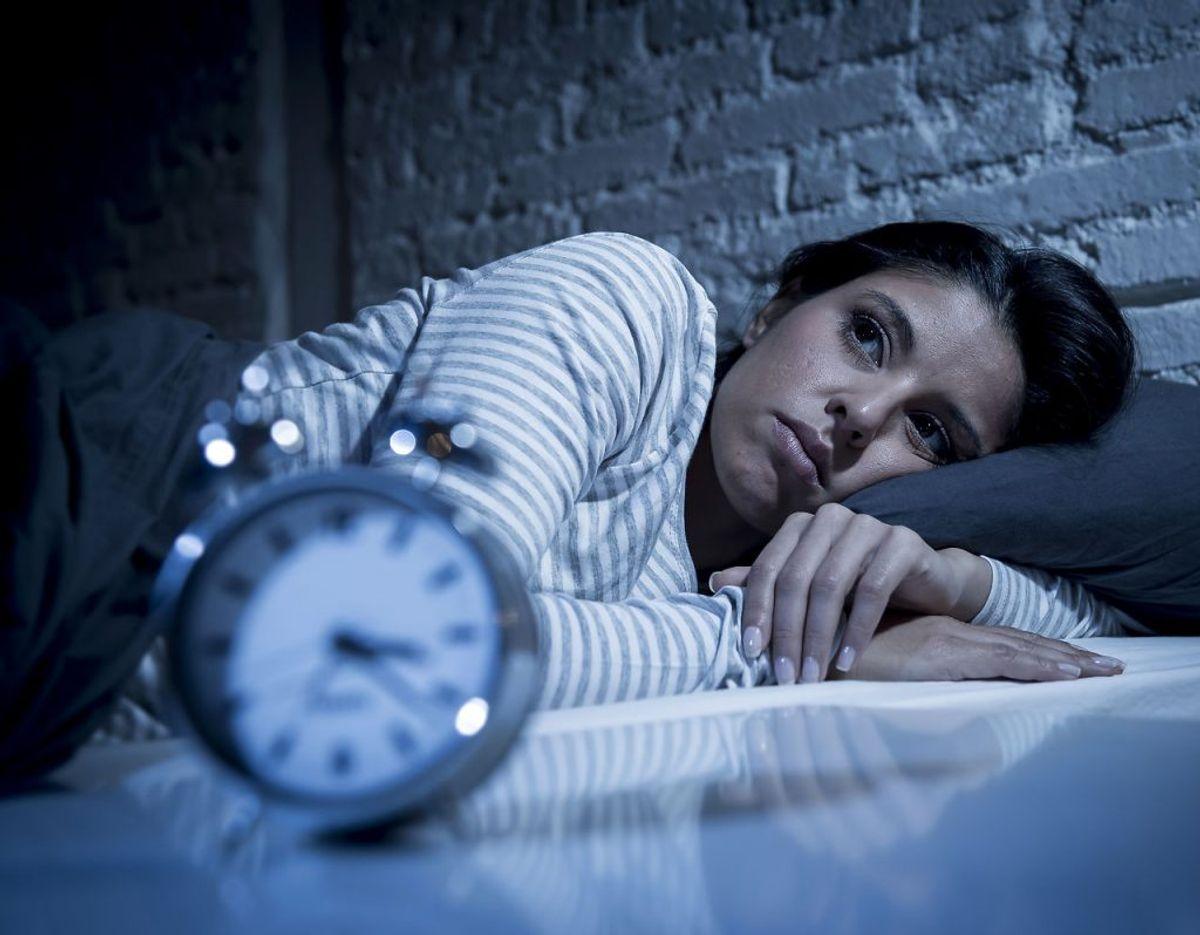 Du begynder at opleve søvnløse nætter er typisk begyndelsen. Kilde: Klinisk psykolog Monique Reynolds, Center for Angst og Adfærdsændring i Maryland. Foto: Scanpix