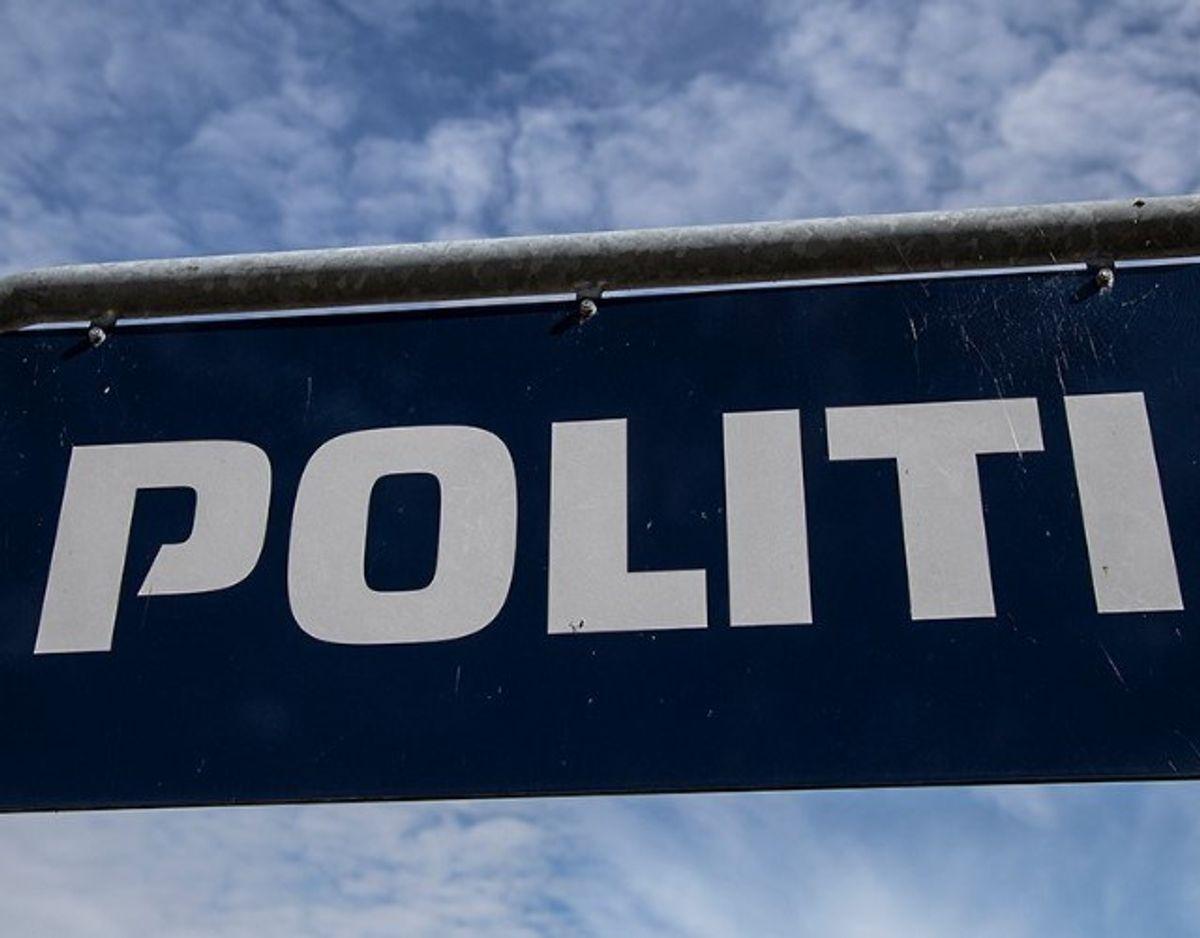 Østjyllands Politi er ramt af et større strømnedbrud. Klik videre for at se, hvor det er. Foto: Rene Gammelmark/ Arkiv