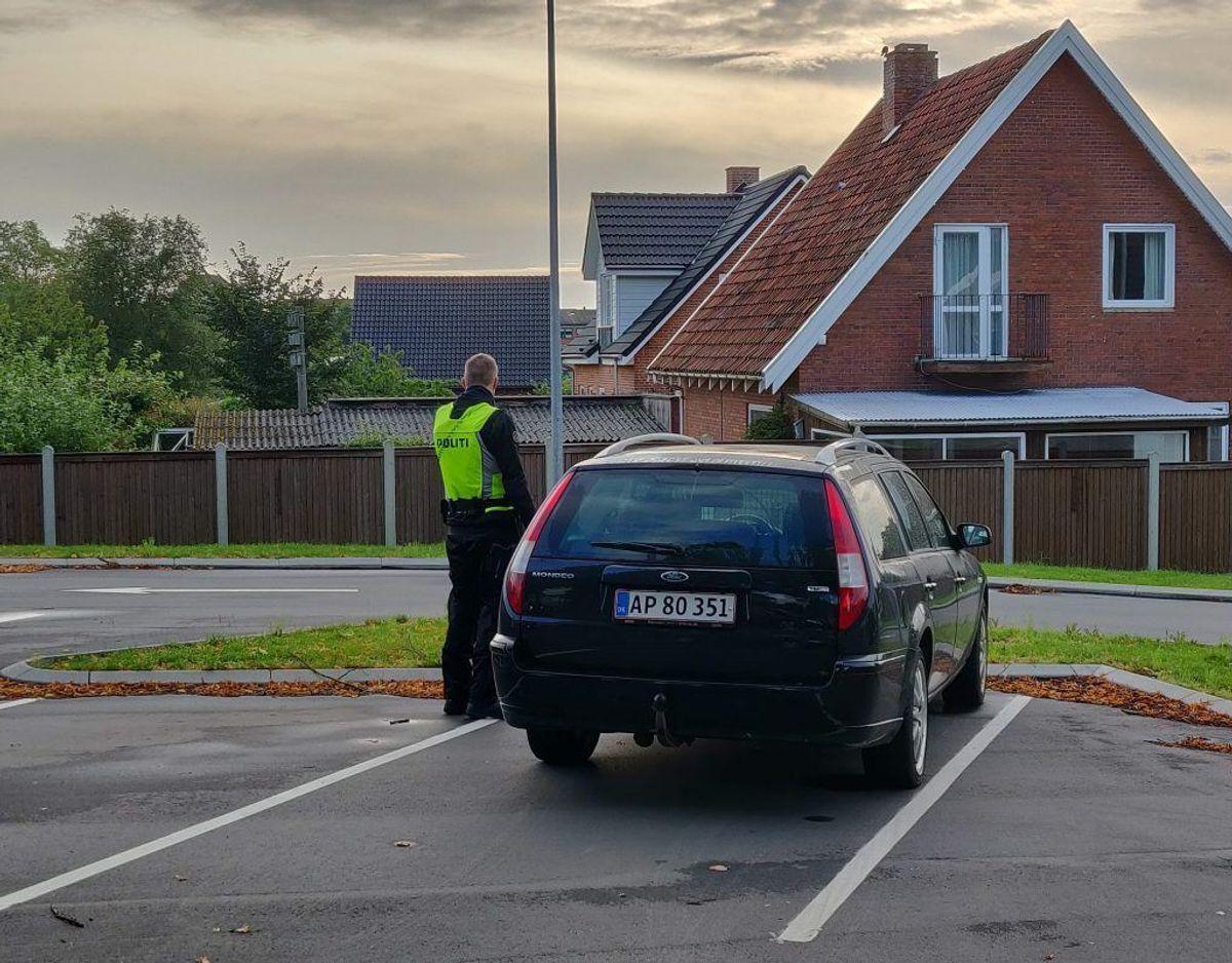 På denne morgen blev der ikke skrevet én bøde.  Foto: Newsbreak.dk