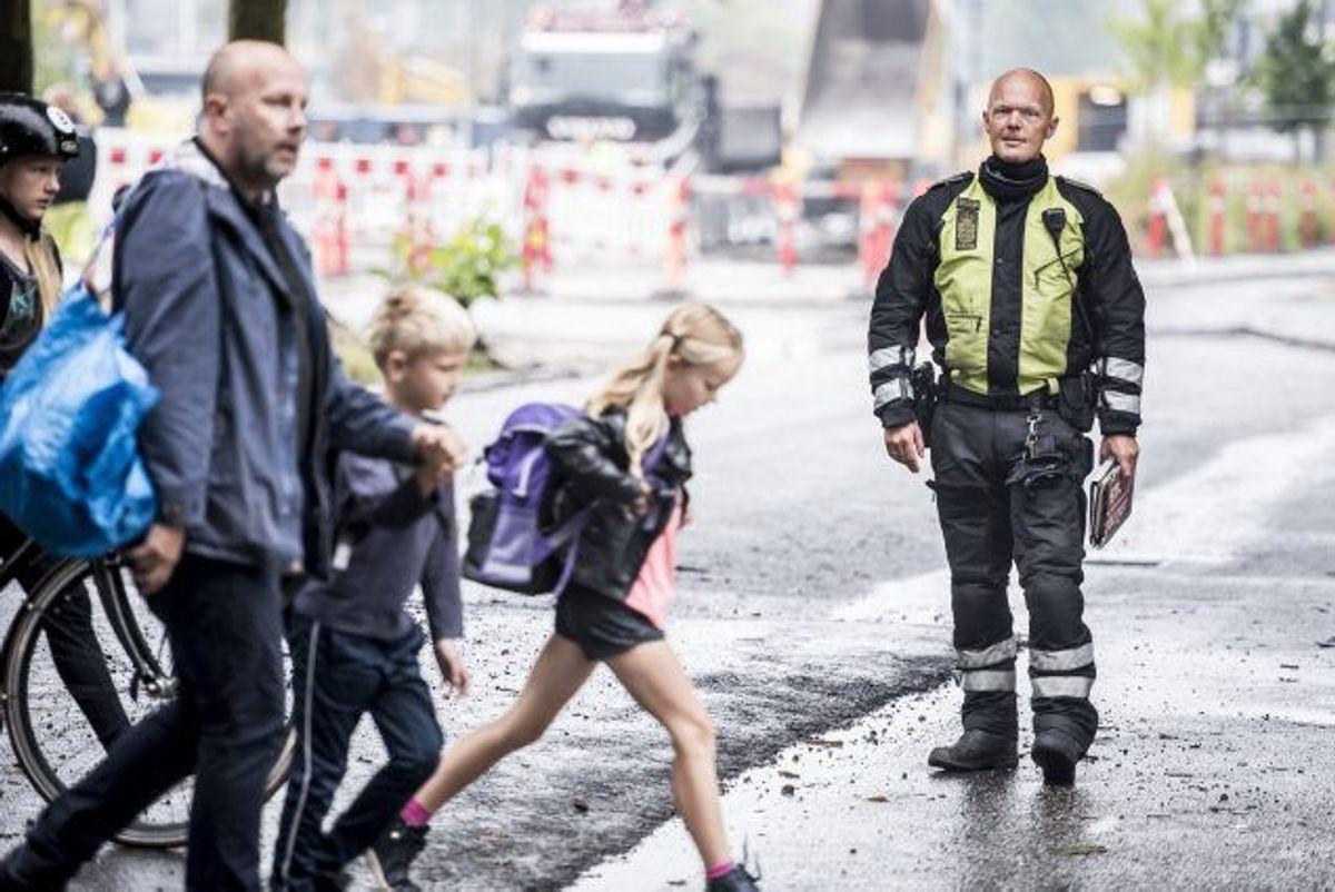 I 2019 har politiet over hele landet registreret flere end 10.000 sager om hastighedsoverskridelser på landets skoleveje, viser nye tal. Nu rykker politiet ud til skærpede kontroller. KLIK videre i galleriet og se, hvilke ting de fokuserer på. Foto: Mads Claus Rasmussen/Scanpix