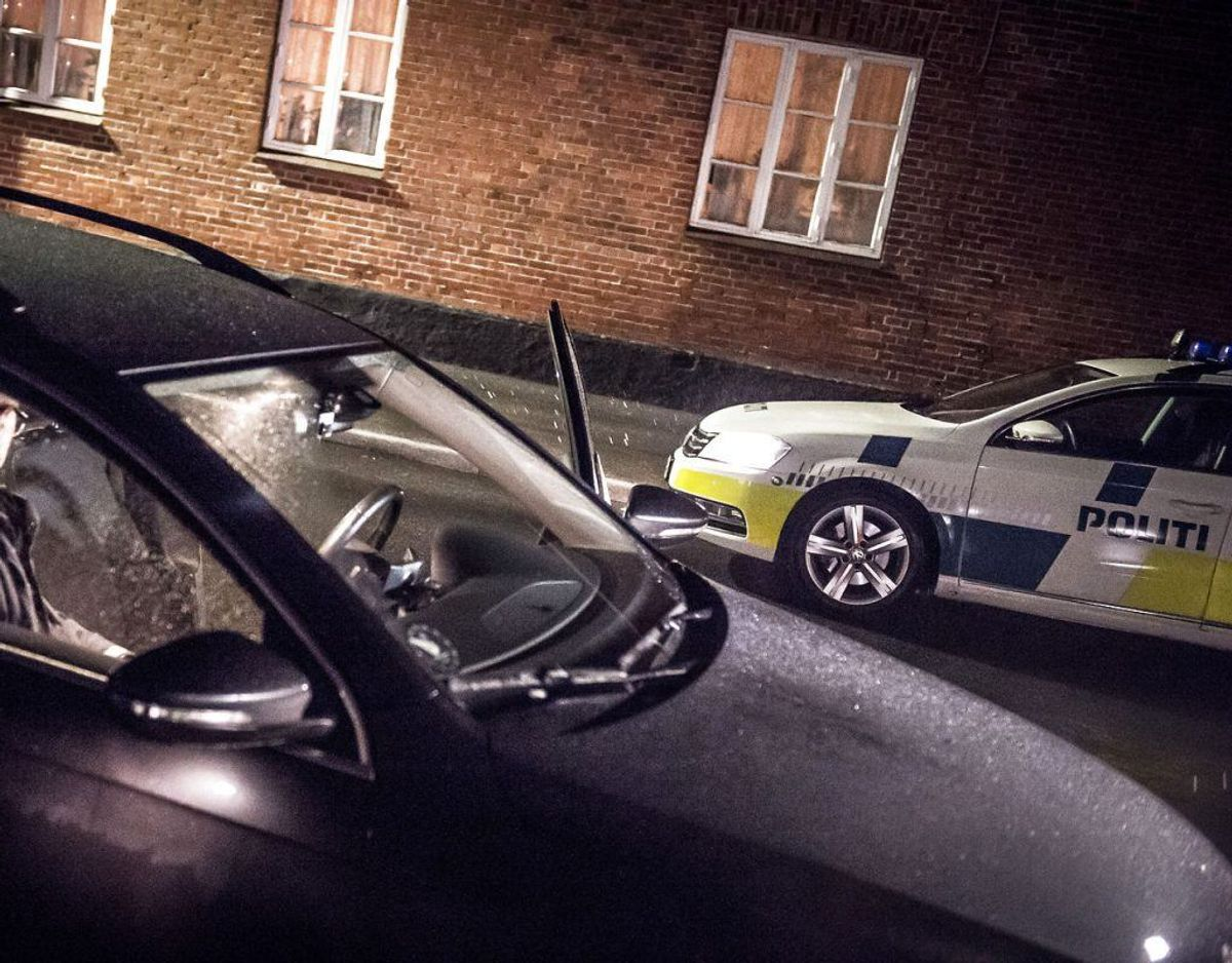 1. Bilernes hastighed. Foto: Scanpix