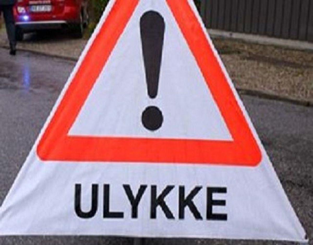 En ulykke på Hovedvej 13 er med 'alvorlig personskade'. KLIK for kort. Foto: Colourbox.