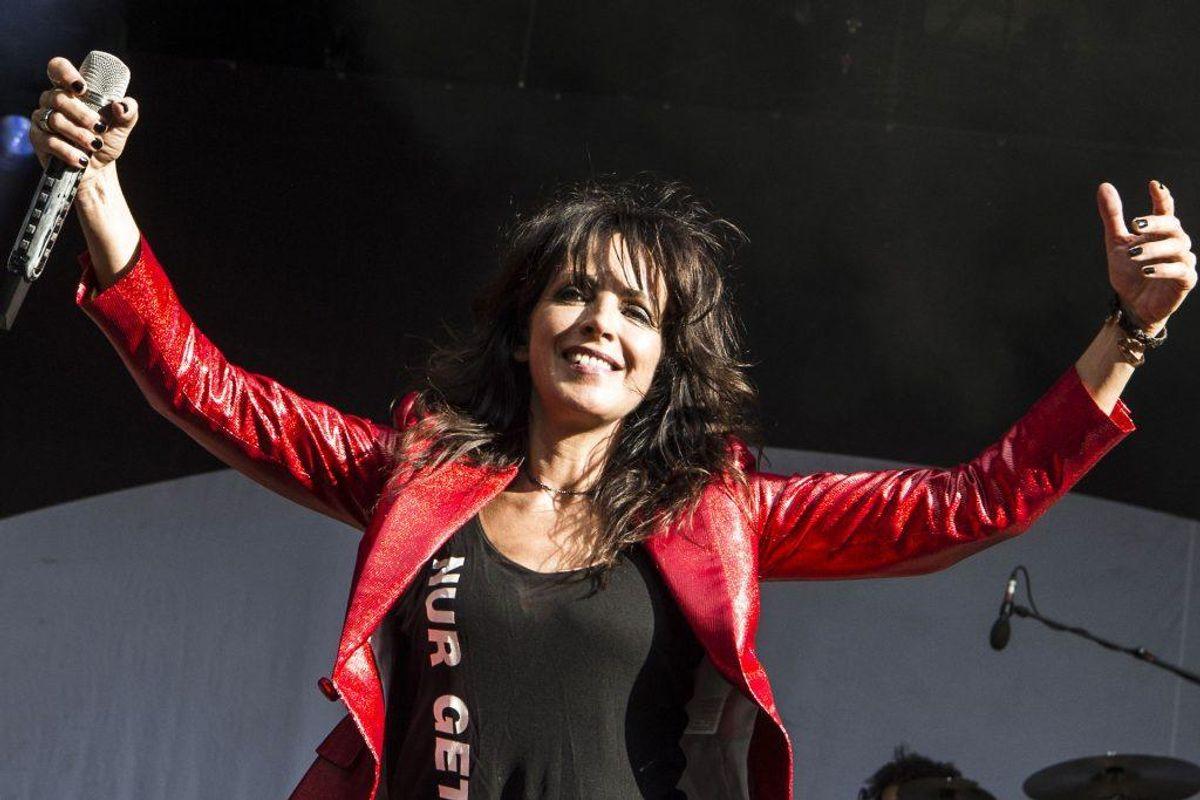 Tyske Nena spiller på Stjernescenen på Smukfest onsdag den 7. august 2019. (Foto: Helle Arensbak/Ritzau Scanpix)