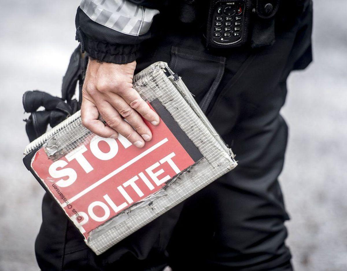 Politiet kommer i de kommende uger til at høje nøje øje med bilisters opførsel ved landets skoler. Foto: Mads Claus Rasmussen/Ritzau Scanpix.