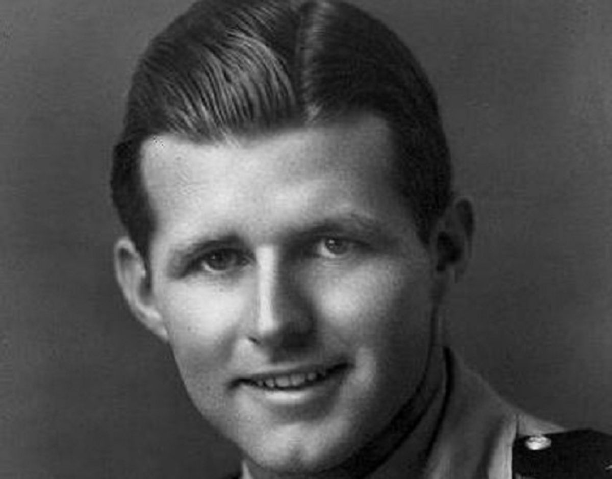 Joseph P. Kennedy Junior var storebror til John F. Kennedy. Det var egentlig ham,d er var udset til at skulle gå ind i politik. Men han døde blot 29 år gammel, da hans fly under 2. verdenskrig i 1944  eksploderede. Foto: John F. Kennedy Presidential Library & Museum/Wikipedia.