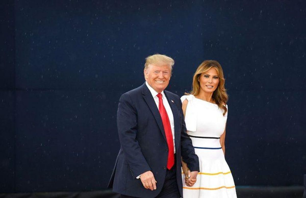 Donald Trump og Melania Trump er klar til at besøge Danmark. KLIK VIDERE OG SE BILLEDER FRA DE ANDRE PRÆSIDENTERS BESØG. Foto: Scanpix