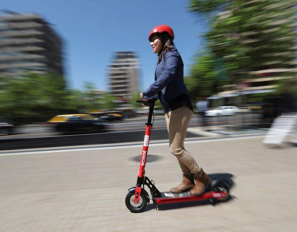 Elløbehjulet må højest kunne køre 20 km/t – ellers er det ikke tilladt. Kilde: Codan. Klik videre i galleriet for flere billeder. Foto: Scanpix/REUTERS/Ivan Alvarado