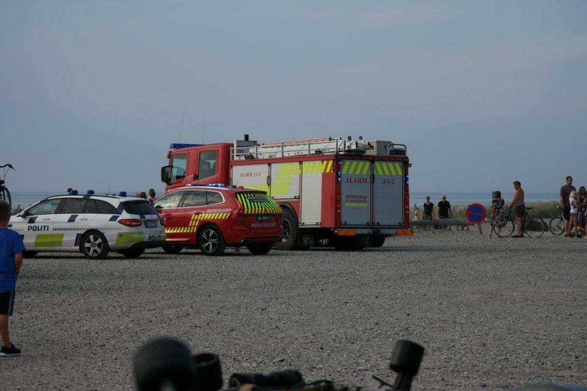 En 81-årig mand er druknet i havet ud for Bønnerup Strand. Foto: Øxenholt Foto