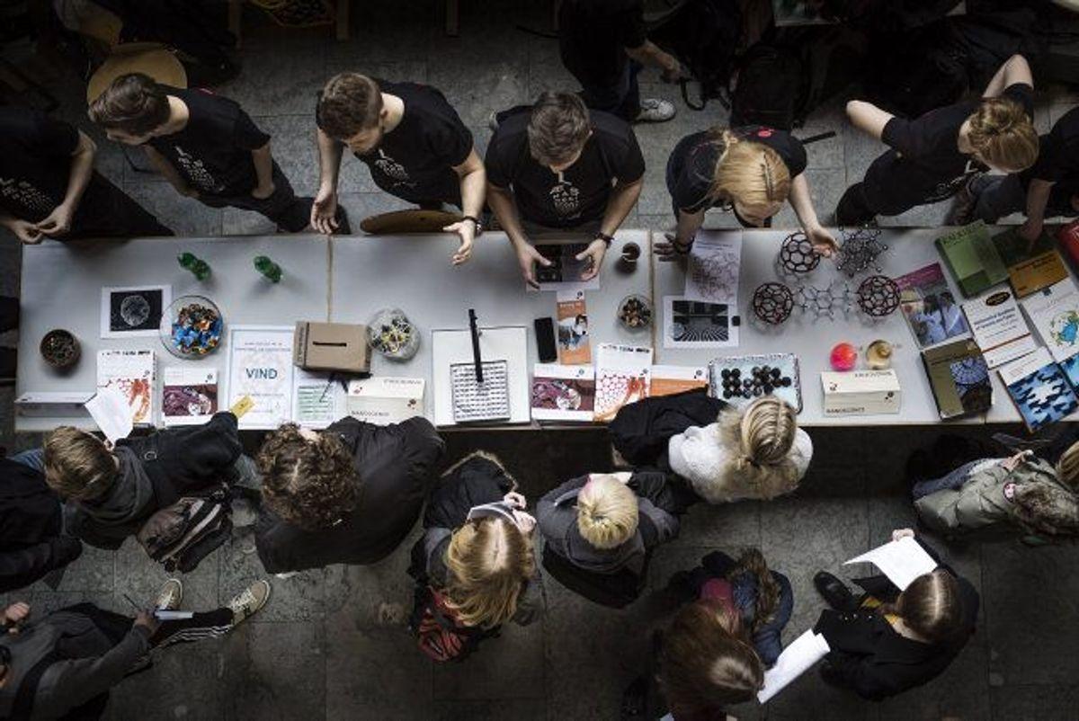 Uddannelsen international business på CBS kræver i år et gennemsnit på 12,4. KLIK VIDERE OG SE, HVILKE UDDANNELSER DER HAR DE HØJESTE KARAKTERKRAV I ÅR. (Arkivfoto) Foto: Thomas Lekfeldt/Scanpix