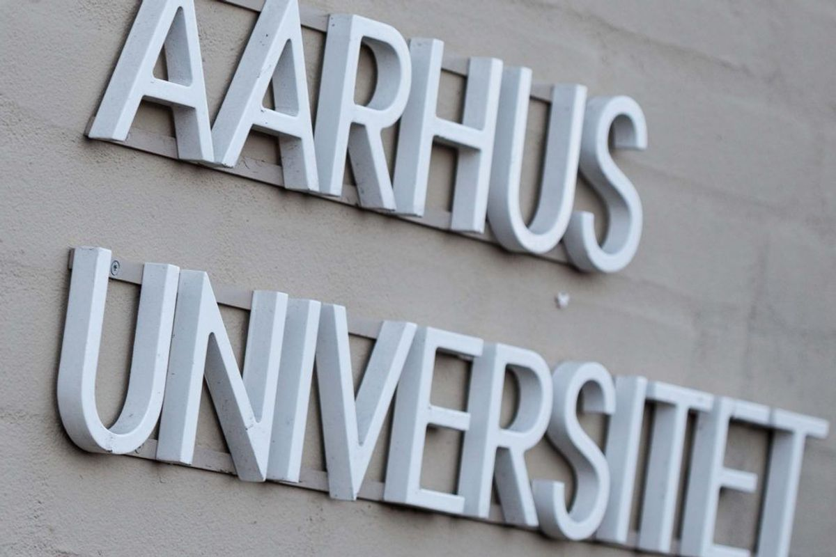 11,9 i gennemsnit: Cognitive Science, Aarhus Universitet. Kilde: Styrelsen for Uddannelse og Forskning. Arkivfoto.