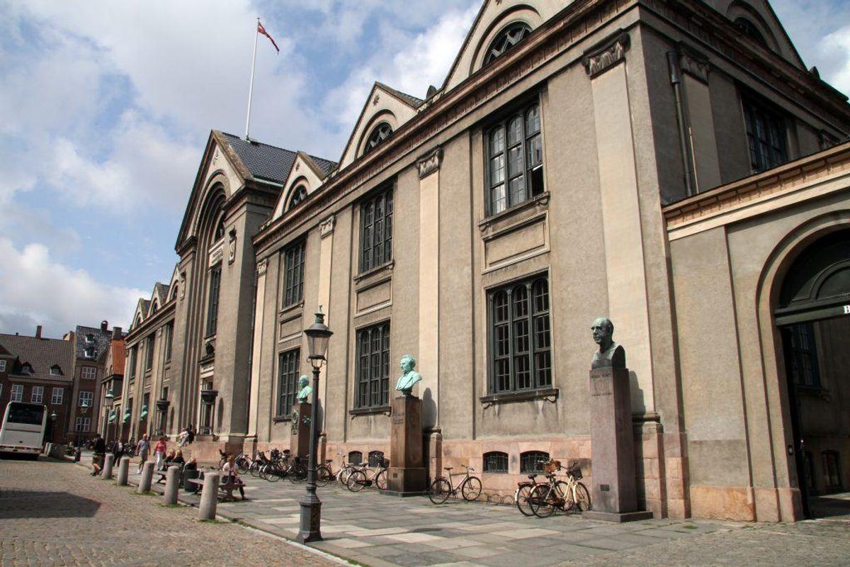 11,5 i gennemsnit: Forsikringsmatematik, Københavns Universitet. Kilde: Styrelsen for Uddannelse og Forskning. Arkivfoto.