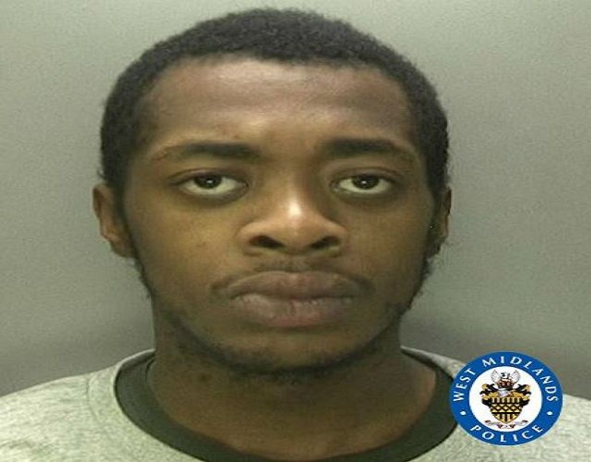 Gregory Crockett blev idømt 12 års fængsel. Foto: West Midlands Police