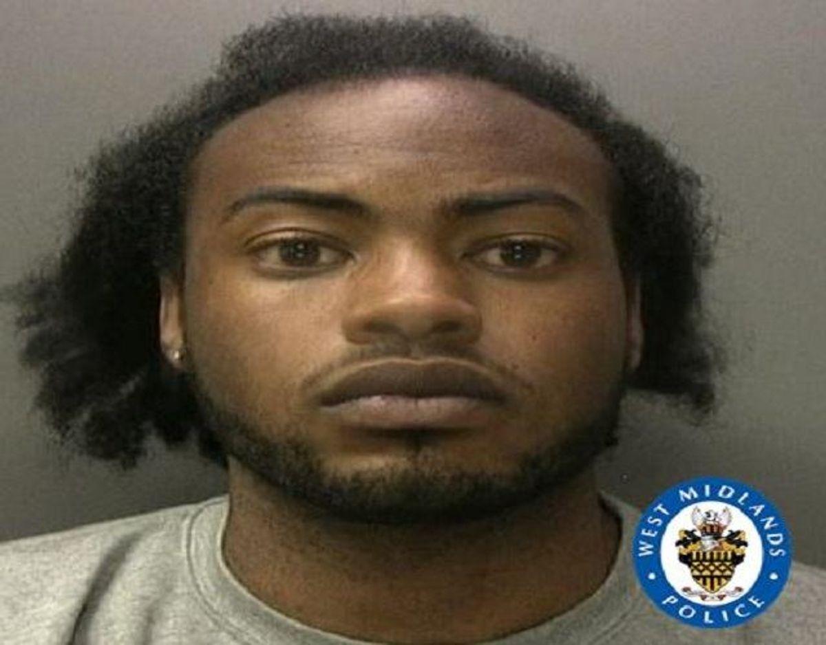 Malik Ragnatt fik 10-års fængsel. Foto: West Midlands Police