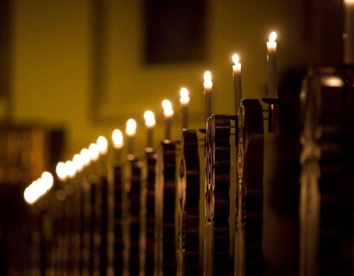 Den dræbte vil blive bisat her fra Holstebro Kirke. Foto: Scanpix