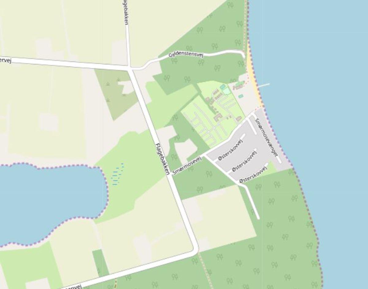 Svendborg: Smørmosen  Foto: Openstreetmaps-bidragsydere.