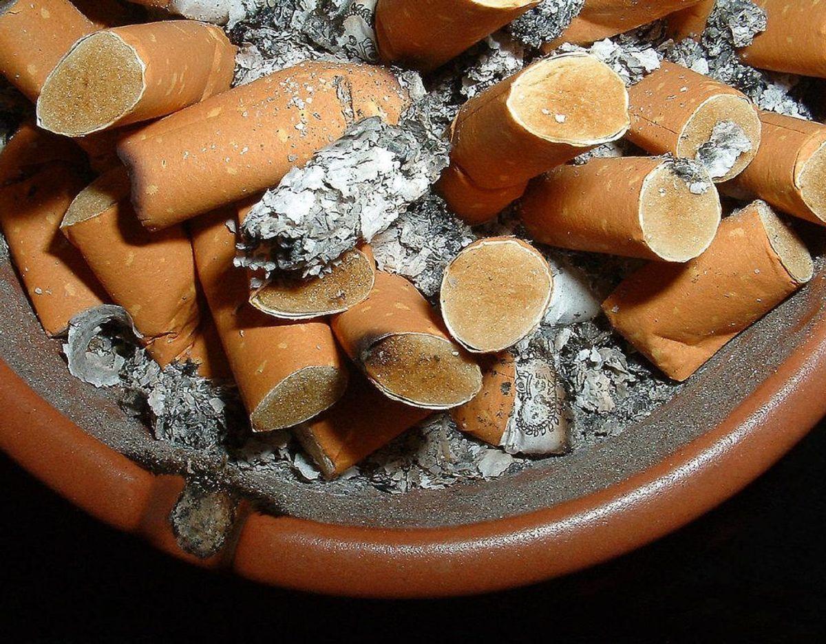 Ingen rygning. Foto: Scanpix