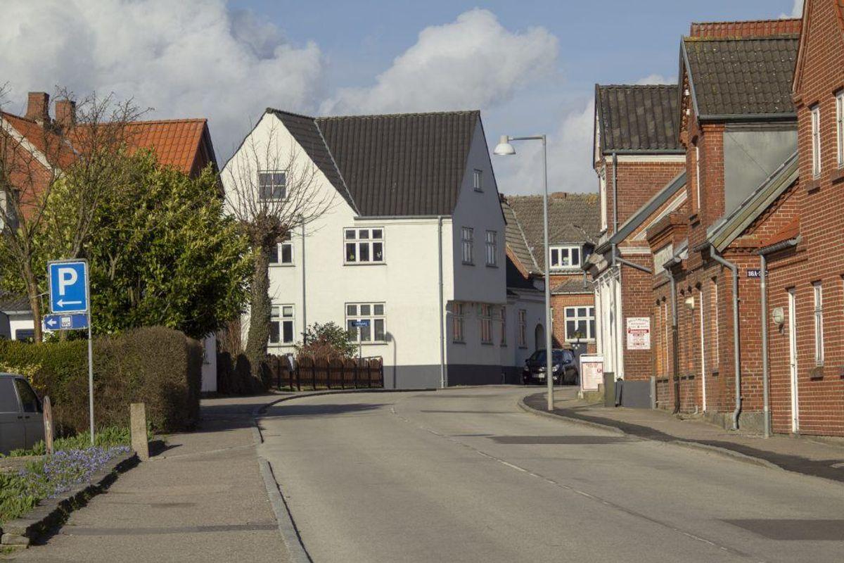 Faxe: Faldet med 3455 kroner per kvadratmeter. Kilde: Ritzau/Boligsiden.dk. Arkivfoto.