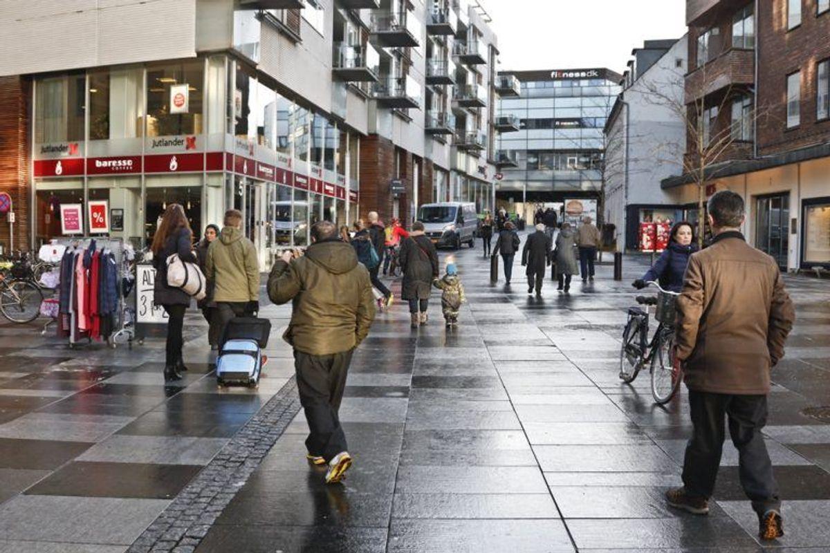 Aarhus: Steget med 3282 kroner per kvadratmeter. Kilde: Ritzau/Boligsiden.dk. Arkivfoto.