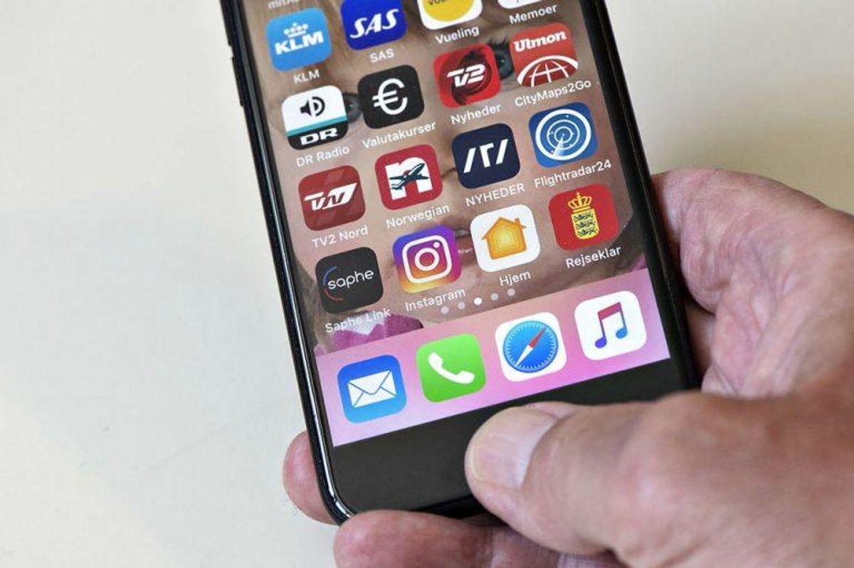 Din telefon ved alt om, hvor du bevæger dig hen – både hvor, hvornår og hvor ofte. Foto: Scanpix