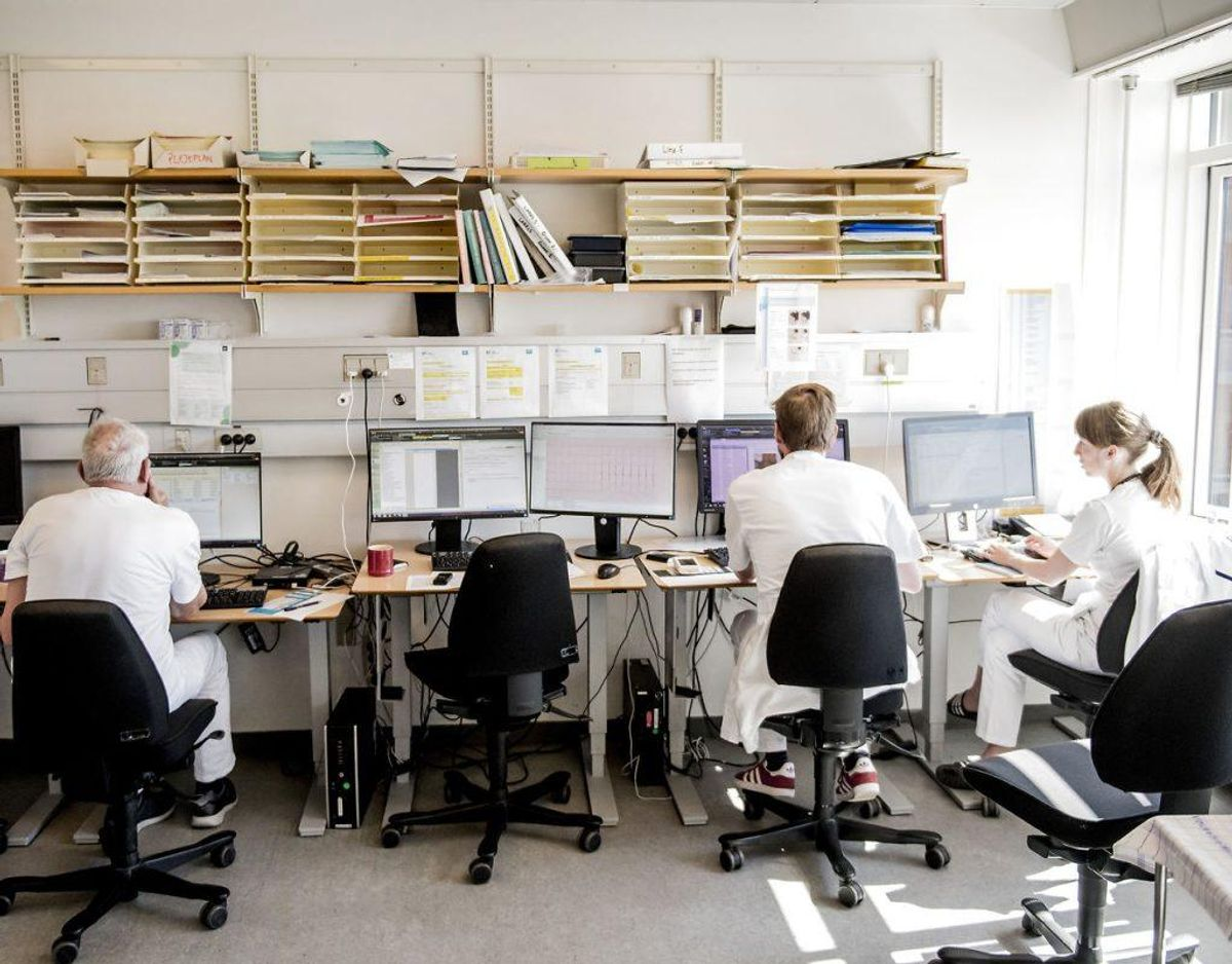 Problemer med it-systemet Sundhedsplatformen, har medført, at en stor gruppe sjællandske patienters medicinkort ikke er blevet opdateret. De kan være i risiko for fejlmedicinering. Foto: Scanpix