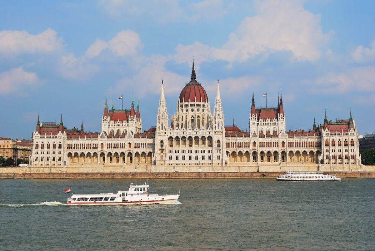 Ottendepladsen: Budapest. (32 procent  forsinkede fly) Kilde: Flypenge.dk. Arkivfoto.